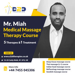 Mr. Miah Medical Massage Therapy Diploma Course